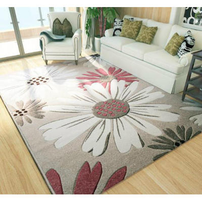 Hot Selling Microfiber 100% Polyester Jacquard Carpets