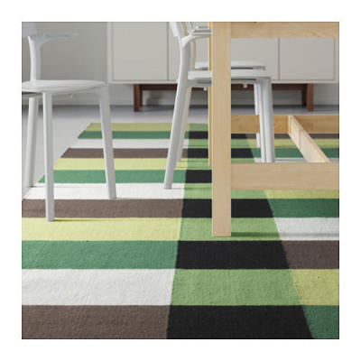 Wholesale Home Use polyester Jacquard Stripe Rugs