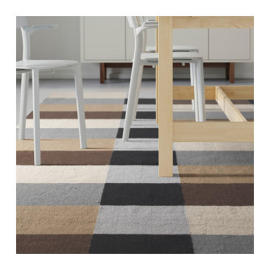 Wholesale Home Use polyester Jacquard Stripe Carpets