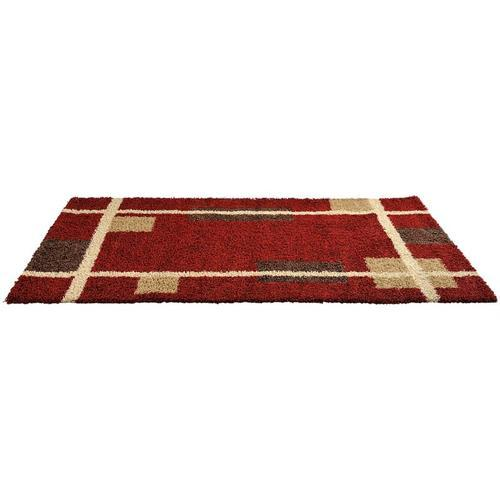 Soft microfiber shaggy carpets for room decoration