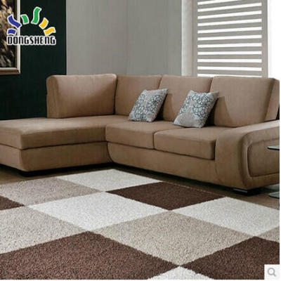 Decorative handtufted polyester shaggy carpet and rug