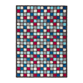 Hand Tufted Shaggy Carpet Polyester Comfort Mat