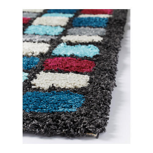 Hand Tufted Shaggy Carpet Polyester Comfort Mat