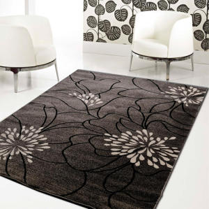 Machine-made Microfiber 100% polyester  Carpets Rugs