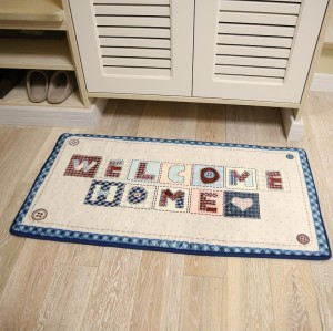 Hot selling microfiber polyester bedroom door mats