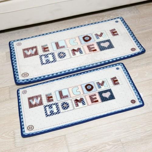 Hot selling microfiber polyester bedroom door mats