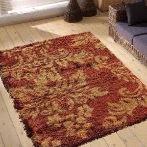Long pile comfortable microfiber polyester rugs