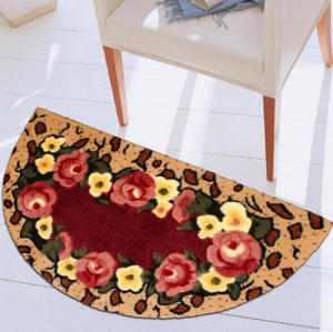 Newest design microfiber 100% polyester carpets for room decoration