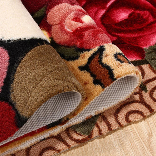Newest design microfiber 100% polyester carpets for room decoration