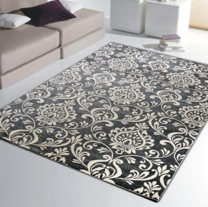 Jacquard Microfiber 100% polyester  Carpets Rugs