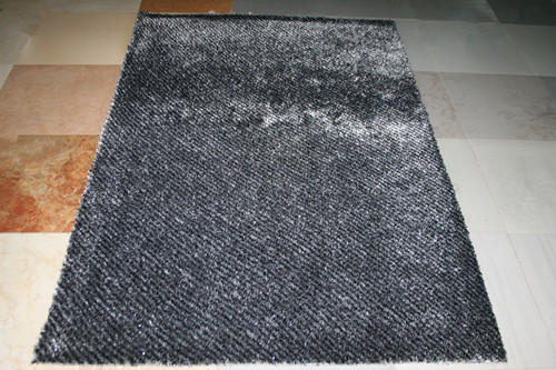 Home Style Soft Material Polyester Plain Carpets and Rugs