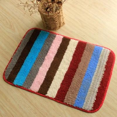 Wholesale 100% polyester kitchen floor mats/front door mats
