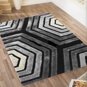 100% polyester microfiber plain floor carpets