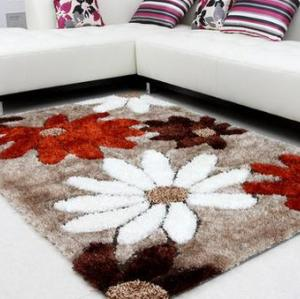 Modern design handtufted polyester carpets and rugs for room decoration