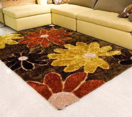 Modern design handtufted polyester carpets and rugs for room decoration