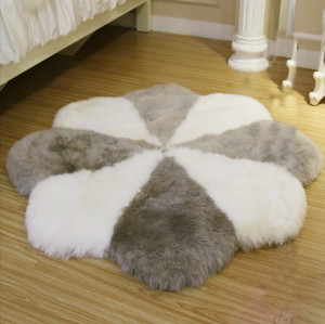 Artificial sheepskin fur rugs for livingroom decoration