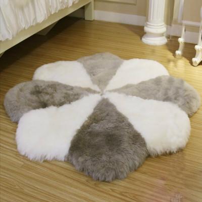 Artificial sheepskin fur rugs for livingroom decoration