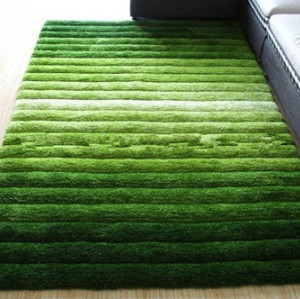 Microfiber Shadow Design 3D Shaggy Carpet