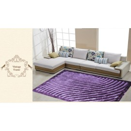 Luxury modern 3D shaggy polyester carpet and rug OEM available