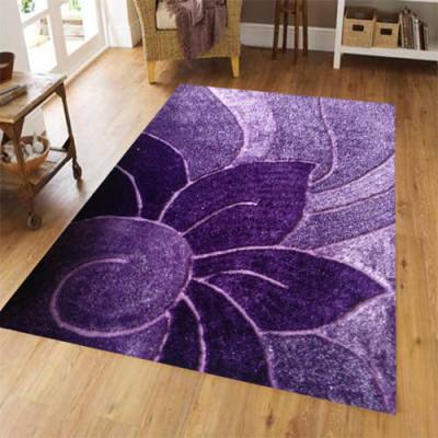 100% polyester shaggy beautiful flower design carpets