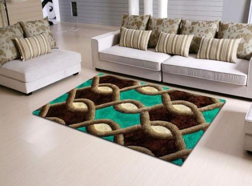 Wholesale high quality customized polyester carpets and rugs