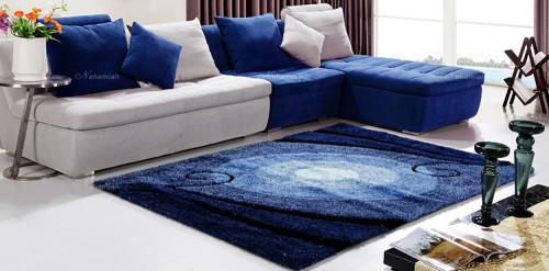 Modern design soft microfiber carpets from China