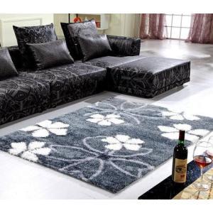 Handtufted 100% polyester microfiber carpet for livingroom