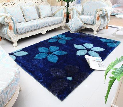 Handtufted 100% polyester microfiber carpet for livingroom