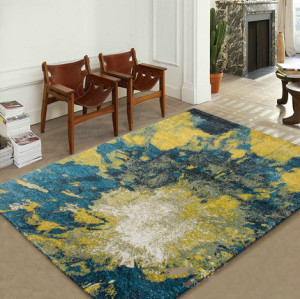 Latest product modern style jacquard carpets for livingroom
