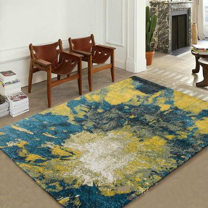 Latest product modern style jacquard carpets for livingroom