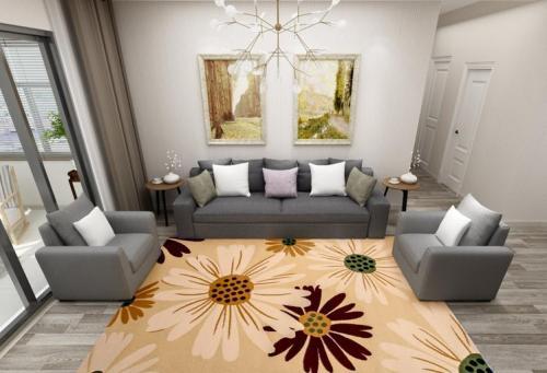 Wholesale 100% polyester mcrofiber carpet for room decoration
