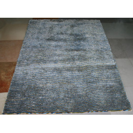 polyester silk and stretch yarn shaggy new design shaggy carpets