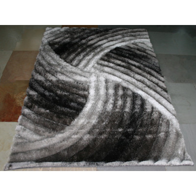 3D Hight Qulaity Chinese Polyester Shaggy Rugs/Shaggy Carpets