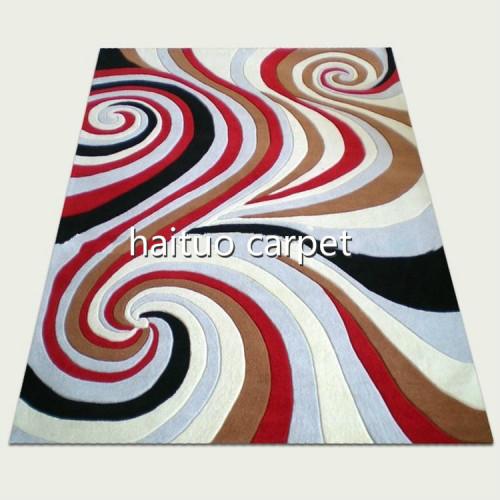 Wholesale modern design mcrofiber rugs for room decoration
