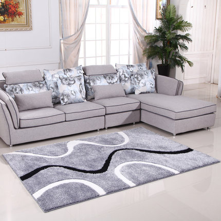 Handtufted perfect comfortable modern style carpet tiles