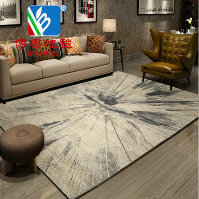 Modern abstract style carpets for room decoration