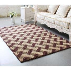 Hot selling handtufted polyester shaggy carpets for livingroom