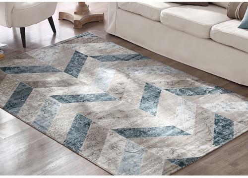 Machine-made 100% polyester mocrofiber floor carpets