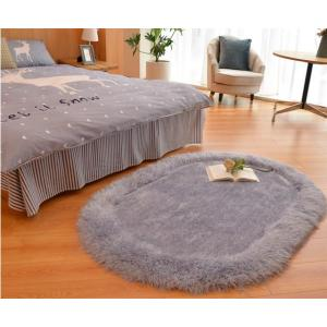 Long pile hand tufted 100% polyester shaggy rugs and mats