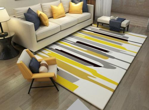 Wholesale 100% polyester microfiber floor carpets and rugs