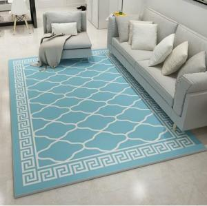 Modern design comfortable microfiber rugs for livingroom