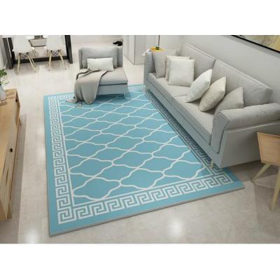 Modern design comfortable microfiber rugs for livingroom