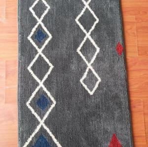 Hot selling jacquard microfiber rugs for livingroom or bathroom
