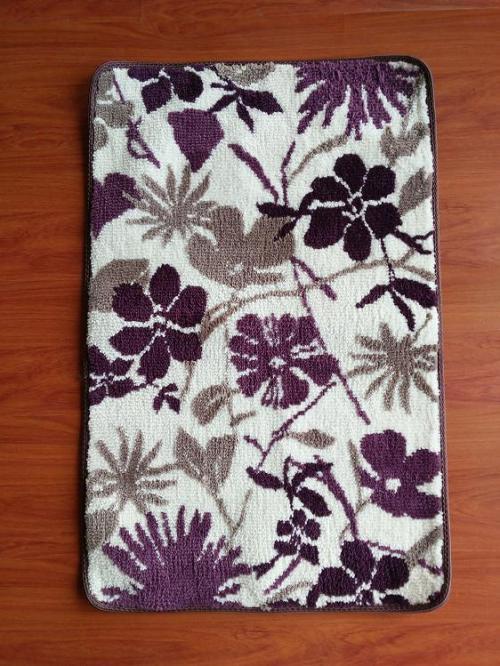 Hot selling jacquard microfiber rugs for livingroom or bathroom