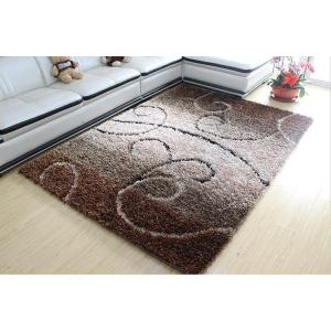 Hot selling handtufted shaggy rugs gradient color carpets