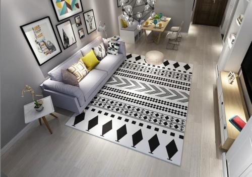 High quality modern design jacquard carpets and rugs