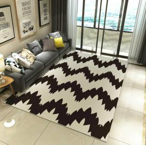 Best factory price jacquard microfiber floor carpets