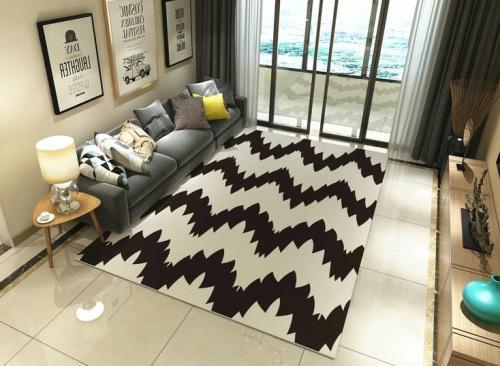 Best factory price jacquard microfiber floor carpets