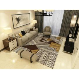 Best design 100% polyester simple style carpet for room decoration