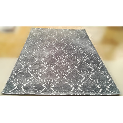 Fashion Carpet 100% polyester quilted jacquard soft carpet